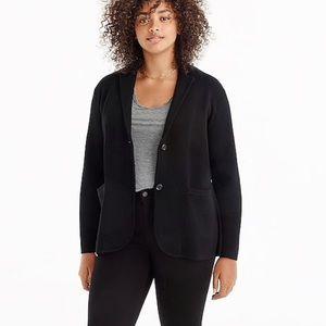 J Crew Sweater Blazer Size XL